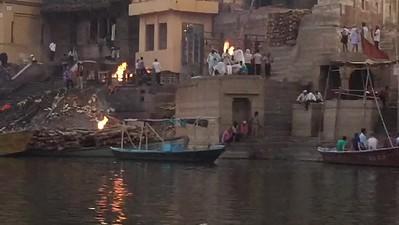 2017 India, Varanasi Ganges Evening Tour.