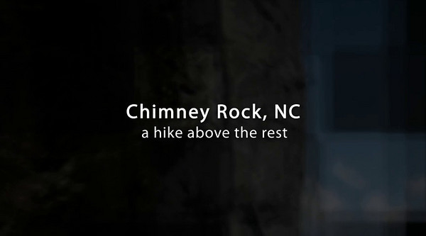 "3 min. video - Chimney Rock State Park, North Carolina  - Photos in this video are from my gallery here: http://www.winsomeworks.com/Travel/The-Carolinas/Chimney-Rock-North-Carolina/4559393_YqGj4#285554624_QFB4F  The music is ""BlackBerry Blossom"" as performed by Cliff Cole & DayBreak friends on our CD ""Autumn Calling"", here:  http://www.cdbaby.com/cd/daybreakfolk94 ."