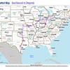 Trip Map 2012 Ontario to Oregonia