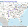 Trip Map 2012 Texas to Ontario and back to Kansas