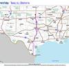 Trip Map 2012 Texas to Oklahoma