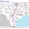 Trip Map 2012 Texas