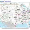 Trip Map 2012 Texas to Ontario