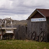 Old trading post near Atlantic City Wyoming
