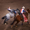 Bucking bronco at the Rodeo, Cody Wyoming