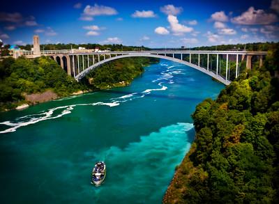 The Rainbow Bridge - Niagara Falls, NY