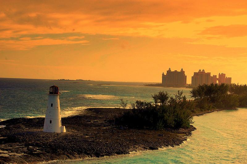Atlantis and light house, Bahamas