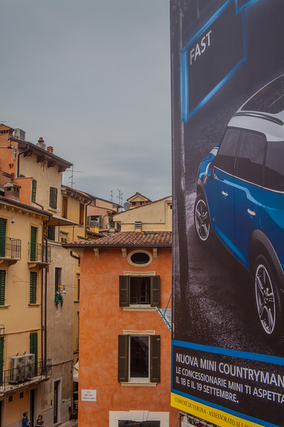 Street scene Verona