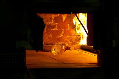 Glassblowing oven Murano, Venice