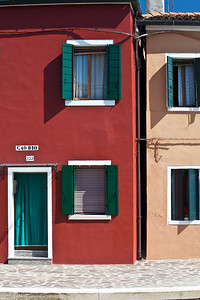 Burano, Venice Colourful houses in Burano