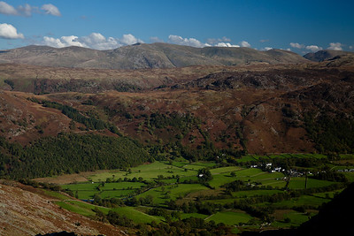 North Western fells Near Keswick, Lake District, England