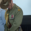 Soldier & medals<br /> Anzac day Perth 2011