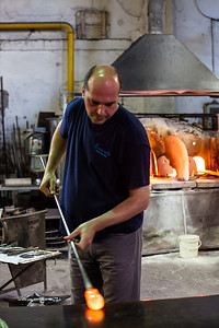 Glassblower Murano, Venice