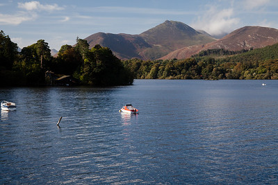 Derwentwater From Keswick, Lake District, England