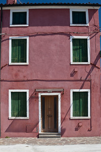 Burano, Venice Colourful house in Burano