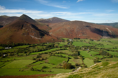 Causey Pike Near Keswick, Lake District, England