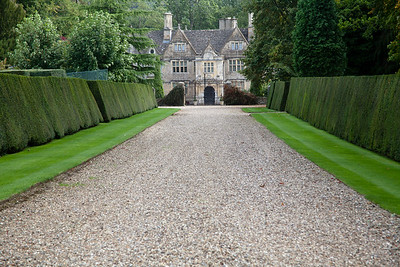 Mansion near Upper Slaughter In the Cotswolds, England
