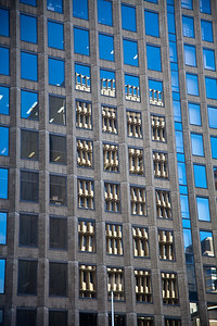 Office building reflection
