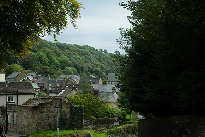 Eyam village Famous for its plague history in the Peak district, England