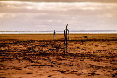 Antony Gormley Sculptures On Lake Ballard, 200km north of Kalgoorlie in Western Australia