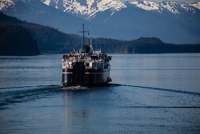 Le Conte Alaska marine highway ferry