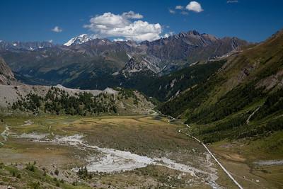 Val Veni, Italy From Col de la Seigne, Italy