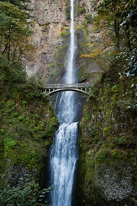 Multnomah Falls Nearthe columbia gorge, Oregon, USA