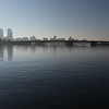 Perth from the Old Swan Brewery on the Swan River in Western Australia