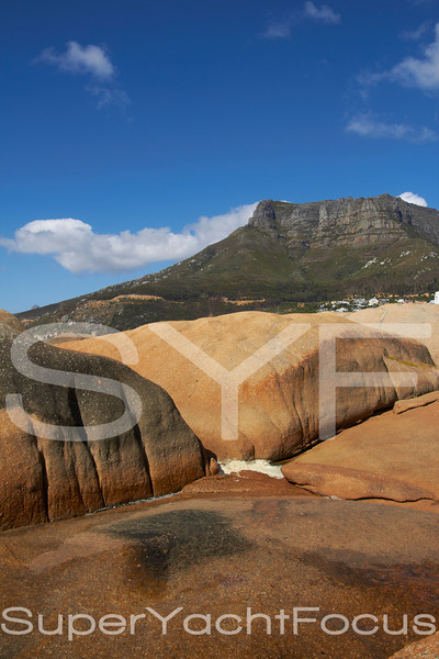 Table Mountain from Llandudno