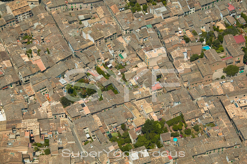 Rooftops,Soller,Mallorca
