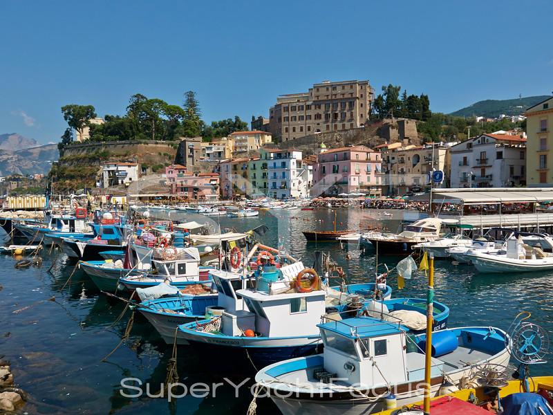 Sorrento,fishing boats