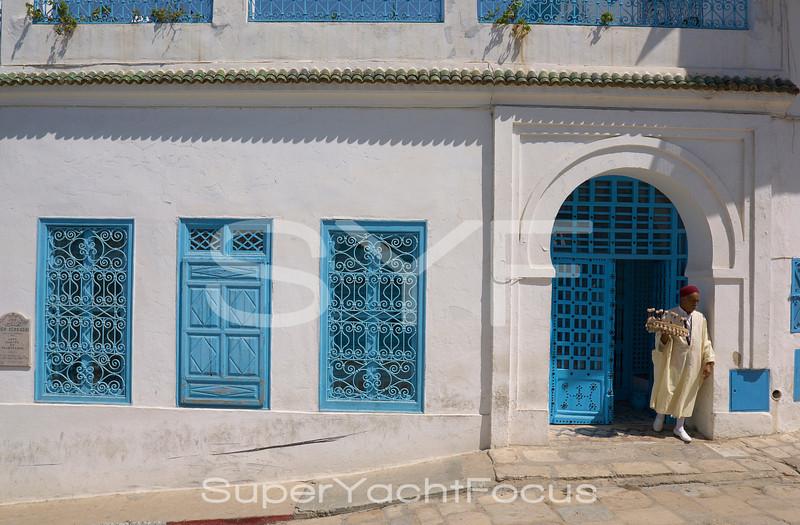 Tunisia Sidi Bou Said