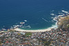 Camps Bay from Table Mountain