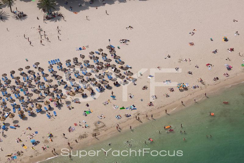 Mallorca, Magaluf beach