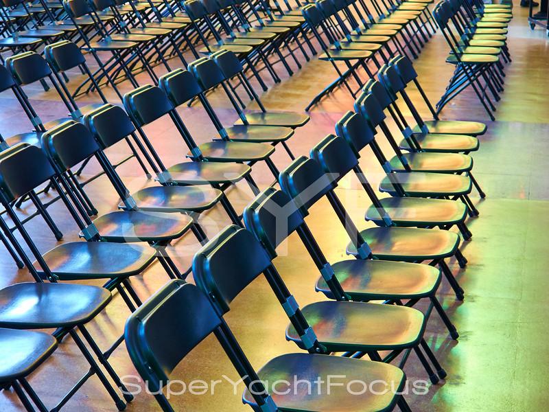 Chairs in Sagrada Familia, Barcelona