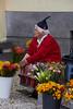 Flower seller,Madeira