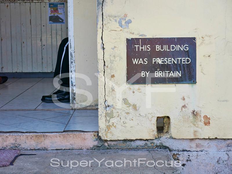 Police station,Antigua