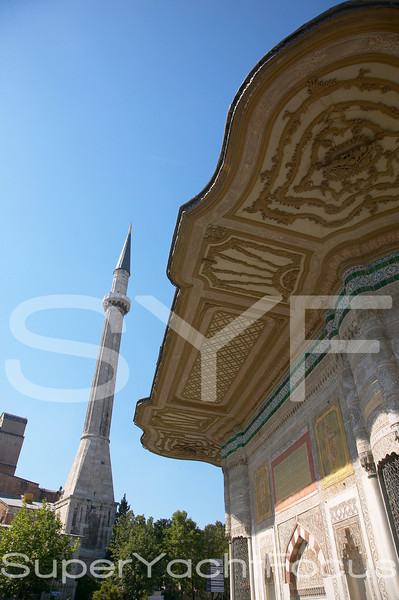 Mosque,mosaic & carving