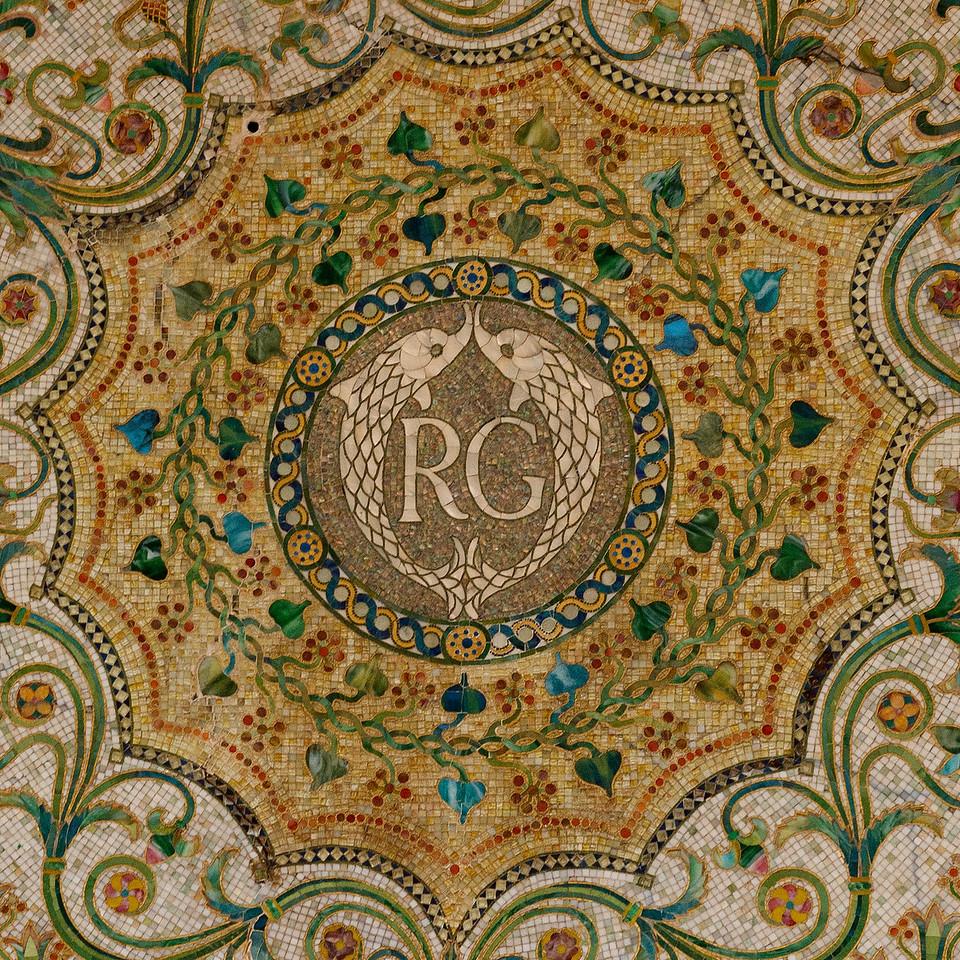 Tile detail, Cultural Arts Center