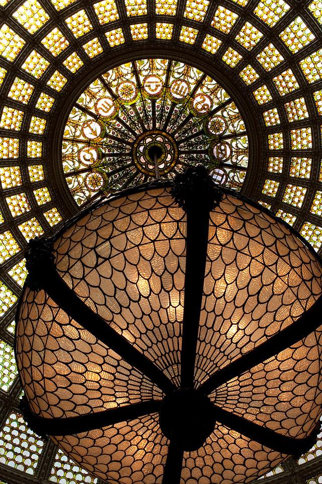 Tiffany Dome @ Cultural Arts Center