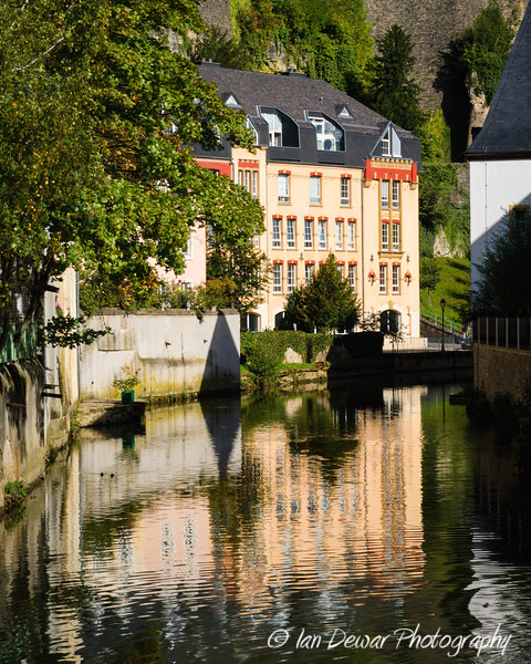 Reflection in the Alzette River