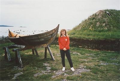 L'Anse aux Meadows, Newfoundland 1989