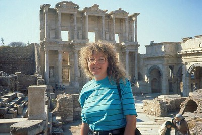 Ephesus Library. Turkey  1988