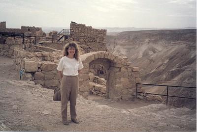 Masada, Israel, 1985