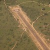This is the private airstrip for Sabi Sabi and two other private reserves connected without fences and adjacent to Kruger National Park. (Also linked with no fences)