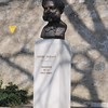 The monument to the founder of the RED CROSS (CROIX-ROUGE) Henry Dunant.<br /> <br /> The Red Cross International HQ is based in Geneva as is its 'live' museum showing hot spots around the world.