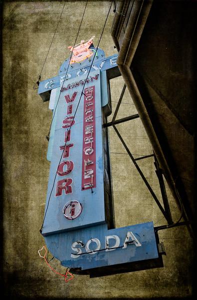 Neon Grove Soda Sign