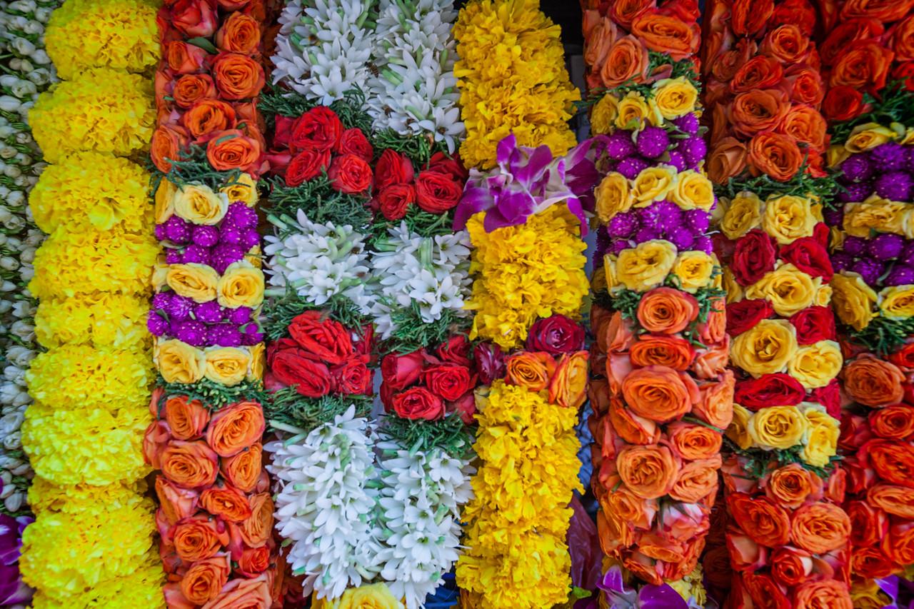 Indian Bridal Flower Garland in Singapore Battered