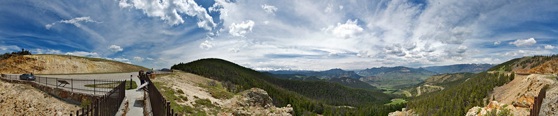 Chief Joseph Highway, Wyoming - full wide