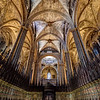 In the Choir of La Catedral